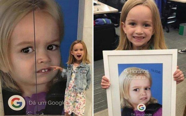 Google влаштувала сюрприз дівчинці-мему