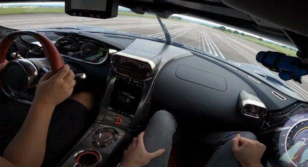 Koenigsegg Regera, скріншот відео