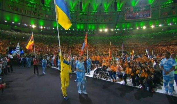 Український футболіст тріумфально виніс прапор у Ріо