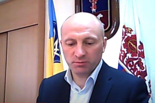 Городской голова Черкасс Анатолий Бондаренко, скриншот: YouTube