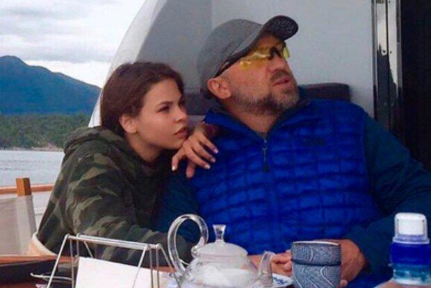 Настя Рыбка и Олег Дерипаска, фото из свободных источников