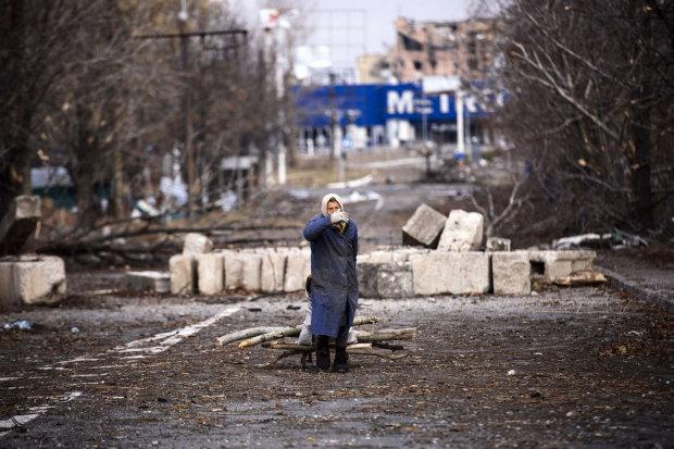 Трагедию Донбасса показали одним фото