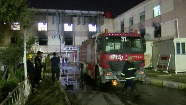 Вибух у лікарні Багдада, фото: Dijlah