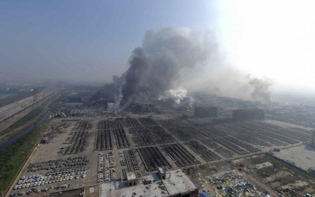 Мощный взрыв в Китае унес девять жизней