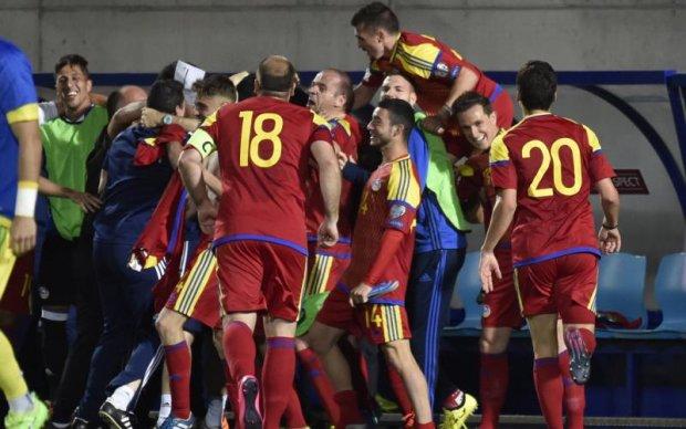 Футболісти Андорри перемогли в офіційному матчі вперше за чортову дюжину років