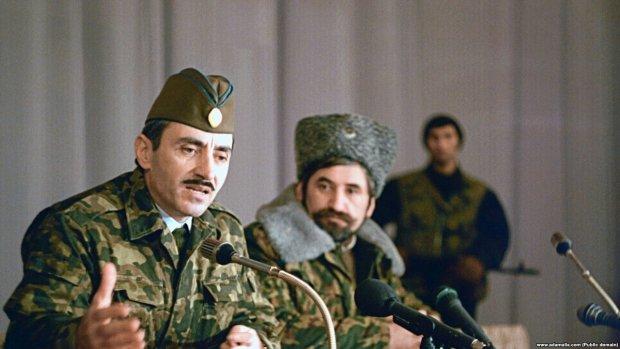 Джохар Дудаєв, перший президент Чеченської Республіки Ічкерія