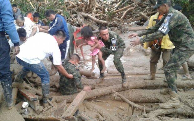 Зсуви травмували десятки дітей в Колумбії