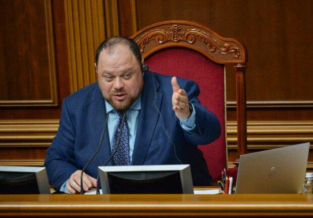 Руслан Стефанчук-фото ВРУ