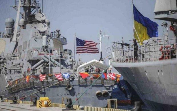 Время пришло: в Севастополе корабли подняли украинские флаги