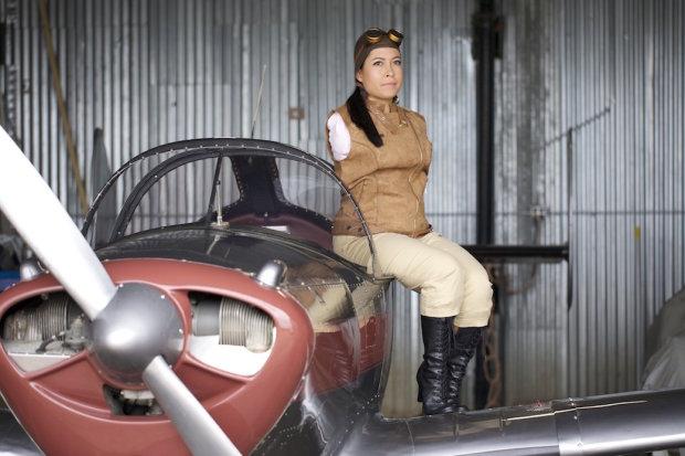 Жажда летать вопреки всему: удивительная история девушки, которая стала пилотом, несмотря на отсутствие рук