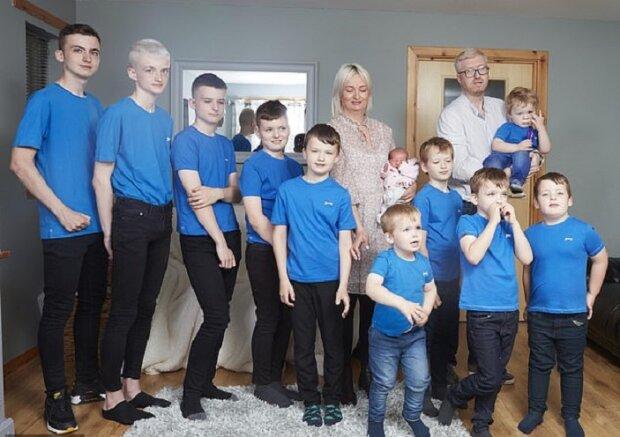 Багатодітна сім'я, фото leswilson.com