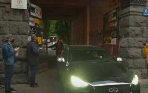 Место гибели нардепа Валерия Давыденко, скриншот: YouTube