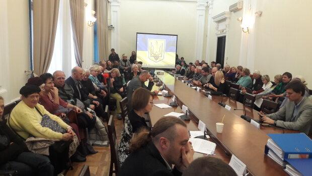Заседание Постоянной земельной комиссии Киевсовета