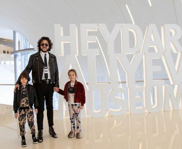 Филипп Киркоров с детьми, фото Instagram