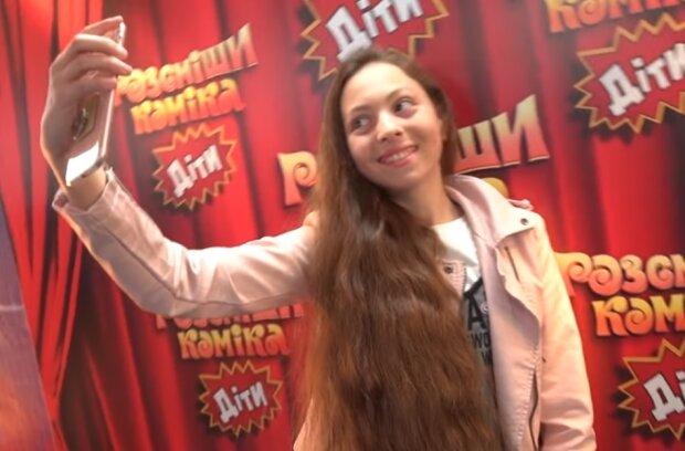 Маша Полякова, скрин из видео