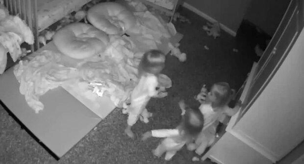 дети видят привидение, фото с Instagram