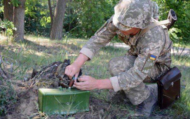 Український воїн підпалив себе під стінами Міноборони: відео
