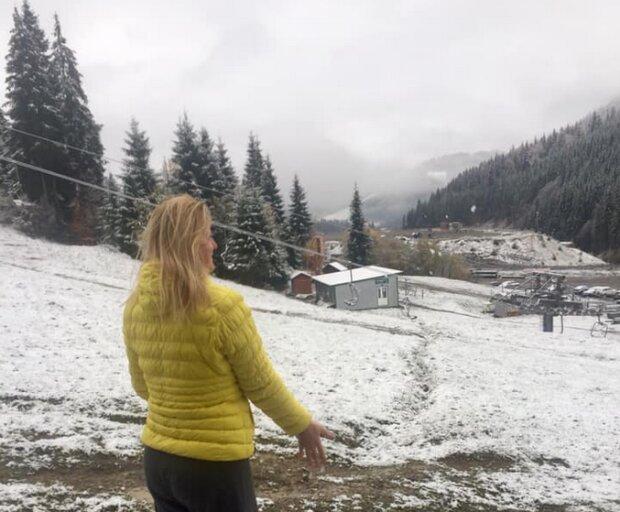 Гайда робити снігових ангелів: Хелловін в Карпатах буде білим і пухнастим