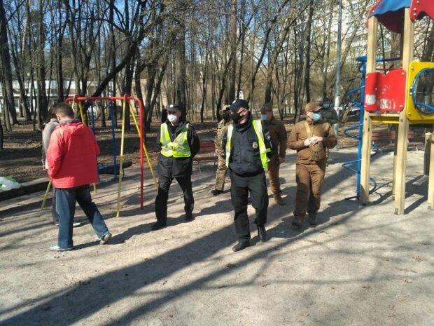 Карантин - Киев, фото с Фейсбук