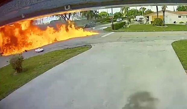авіакатастрофа в США, скріншот з відео