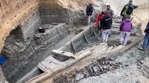 римский корабль, скриншот с видео