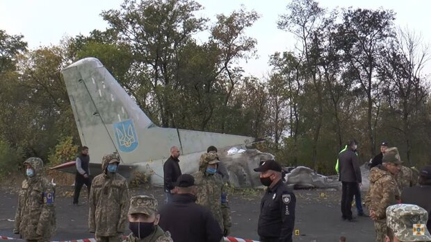 авиакатастрофа / скриншот из видео