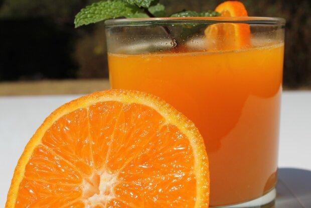 Апельсиновый сок, фото: pixabay.com
