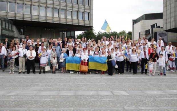Немцы устроили вкусный праздник по-украински