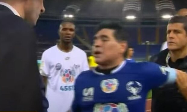 Диего Марадона, скриншот: YouTube