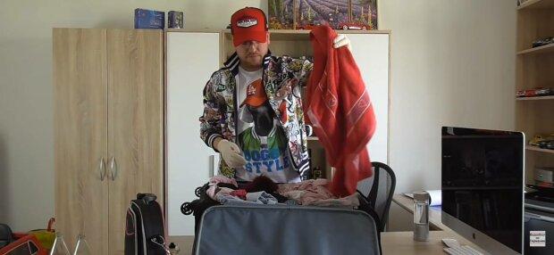 Збір валіз, фото: скріншот з відео