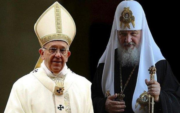 Ракетний удар по Сирії: Папа Римський і Патріарх Кирило все обговорили