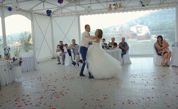 свадьба, скриншот из видео