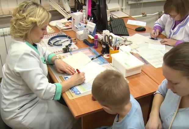 дитячий лікар, скріншот з відео