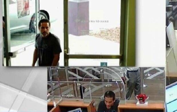 В США мужчина ограбил два банка за минут, NBC