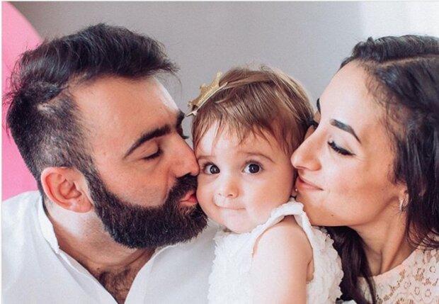 Арам Азуманян с семьей, фото Instagram