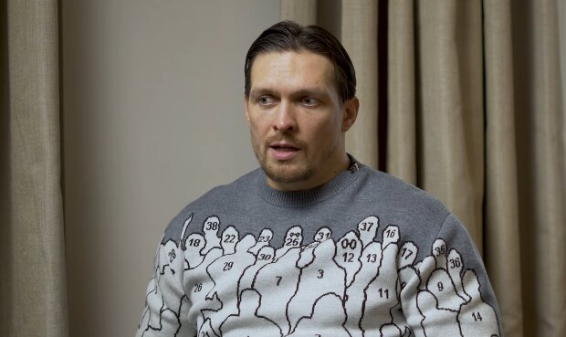 Александр Усик, скриншот из видео