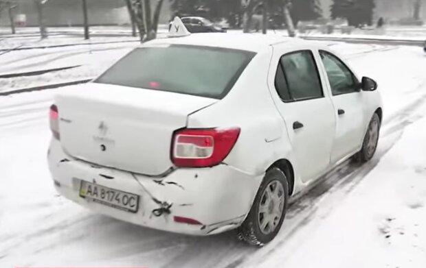 Учебный автомобиль, кадр из видео