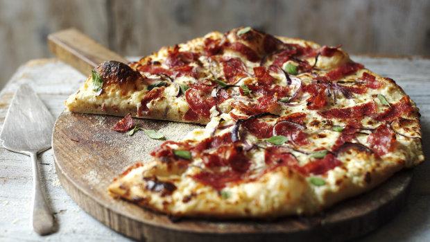 Рецепт невероятной пиццы за 10 минут