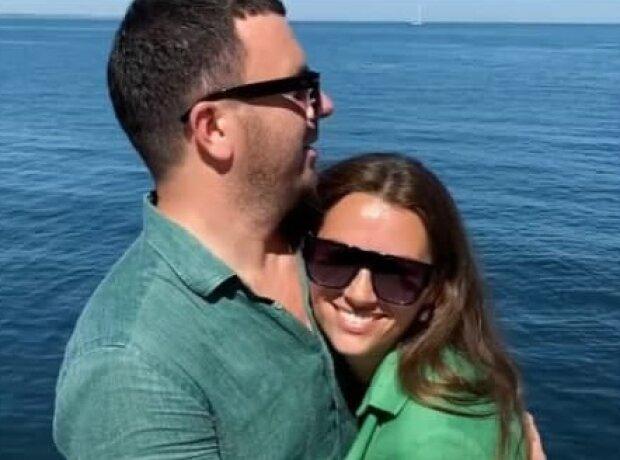 Гриша Решетник з дружиною, фото з Instagram