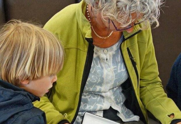 Дитина і бабуся, фото ілюстративне: Facebook Міністерство юстиції України