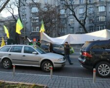 Митинг под Верховной Радой, фото: Украинская правда