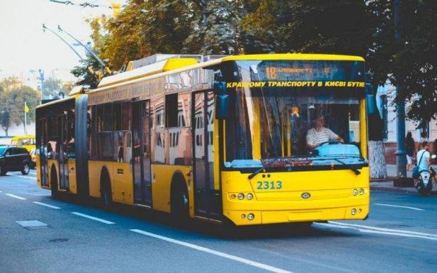 Киевлян лишат привычного троллейбусного маршрута
