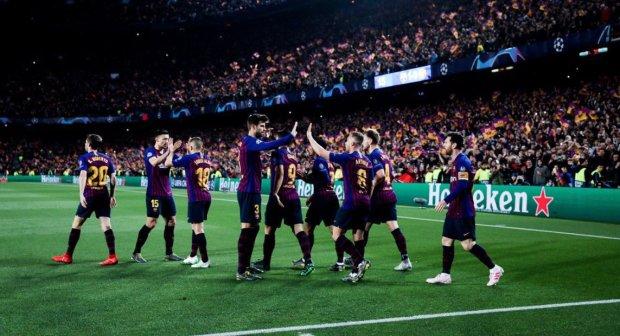 Барселона розгромила МЮ і вийшла в півфінал Ліги чемпіонів