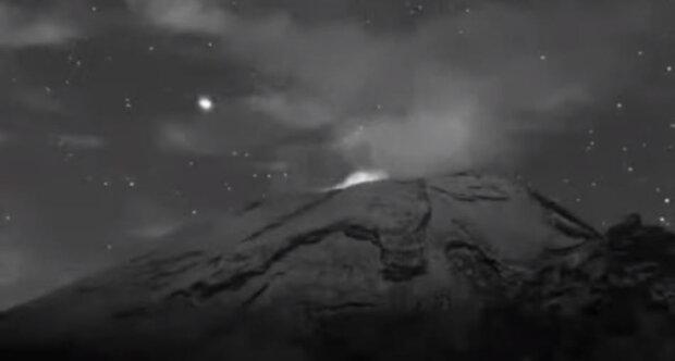 НЛО в Мексике \\ кадр с видео