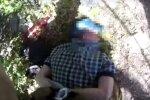 задержание агента ФСБ на Луганщине, скрин с видео