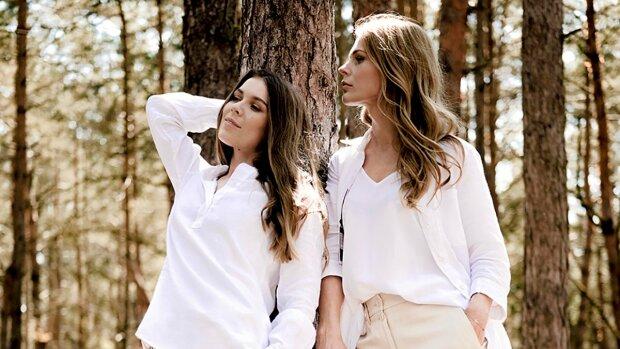 Ольга Фреймут з сестрою Юлею, фото: Instagram