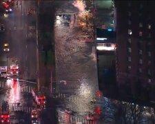 Потоп в Нью-Йорке, скриншот видео