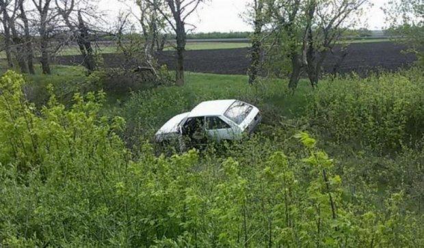 Злодій-невдаха потрапив в аварію на краденому авто
