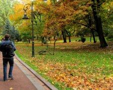 Ивано-Франковск, парк, иллюстрация, погода