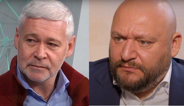 Терехов и Добкин, коллаж